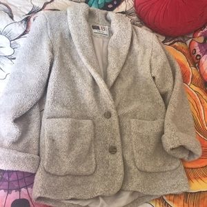 Vintage Oversized Teddy Bear Jacket